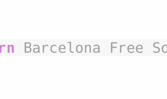 Barcelona Free Software